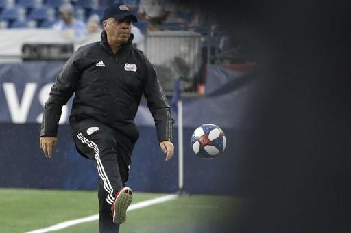 Revolution coach Arena suspended 2 more games, fined $15,000