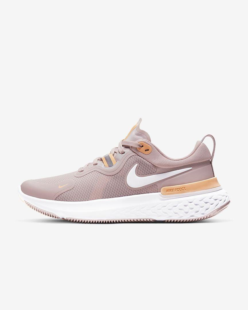 "<p>If you're a distance runner, the new <a href=""https://www.popsugar.com/buy/Nike-React-Miler-568282?p_name=Nike%20React%20Miler&retailer=nike.com&pid=568282&price=130&evar1=fit%3Aus&evar9=45192674&evar98=https%3A%2F%2Fwww.popsugar.com%2Ffitness%2Fphoto-gallery%2F45192674%2Fimage%2F47420177%2FNike-React-Miler&list1=shopping%2Cshoes%2Csneakers%2Cnike%2Cadidas%2Crunning%20shoes%2Cworkouts%2Capl%2Cfitness%20shopping&prop13=api&pdata=1"" class=""link rapid-noclick-resp"" rel=""nofollow noopener"" target=""_blank"" data-ylk=""slk:Nike React Miler"">Nike React Miler</a> ($130) will keep you supported for miles. Plus, we love the color palette.</p>"