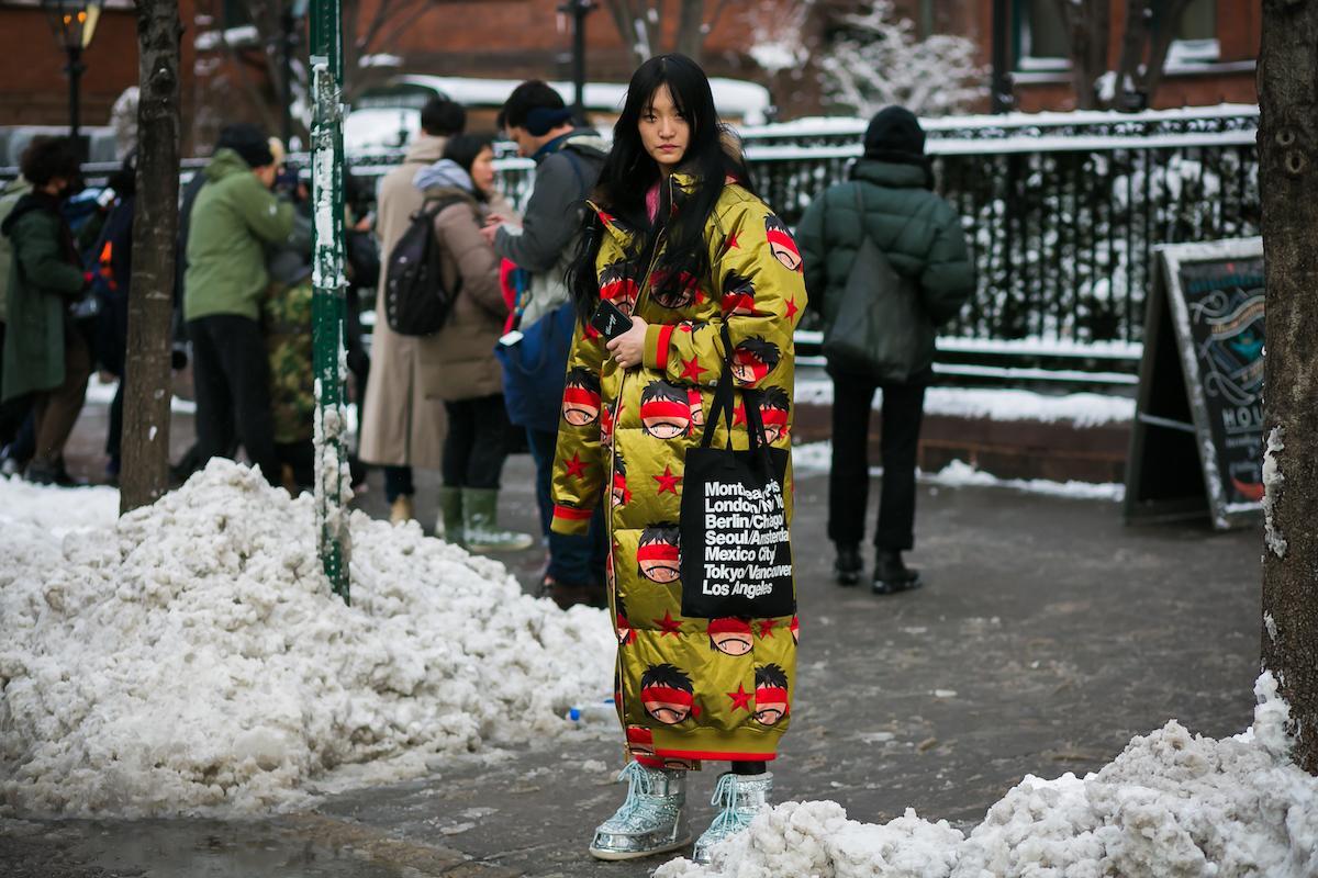 This Is How New York Fashion Week Does A Blizzard