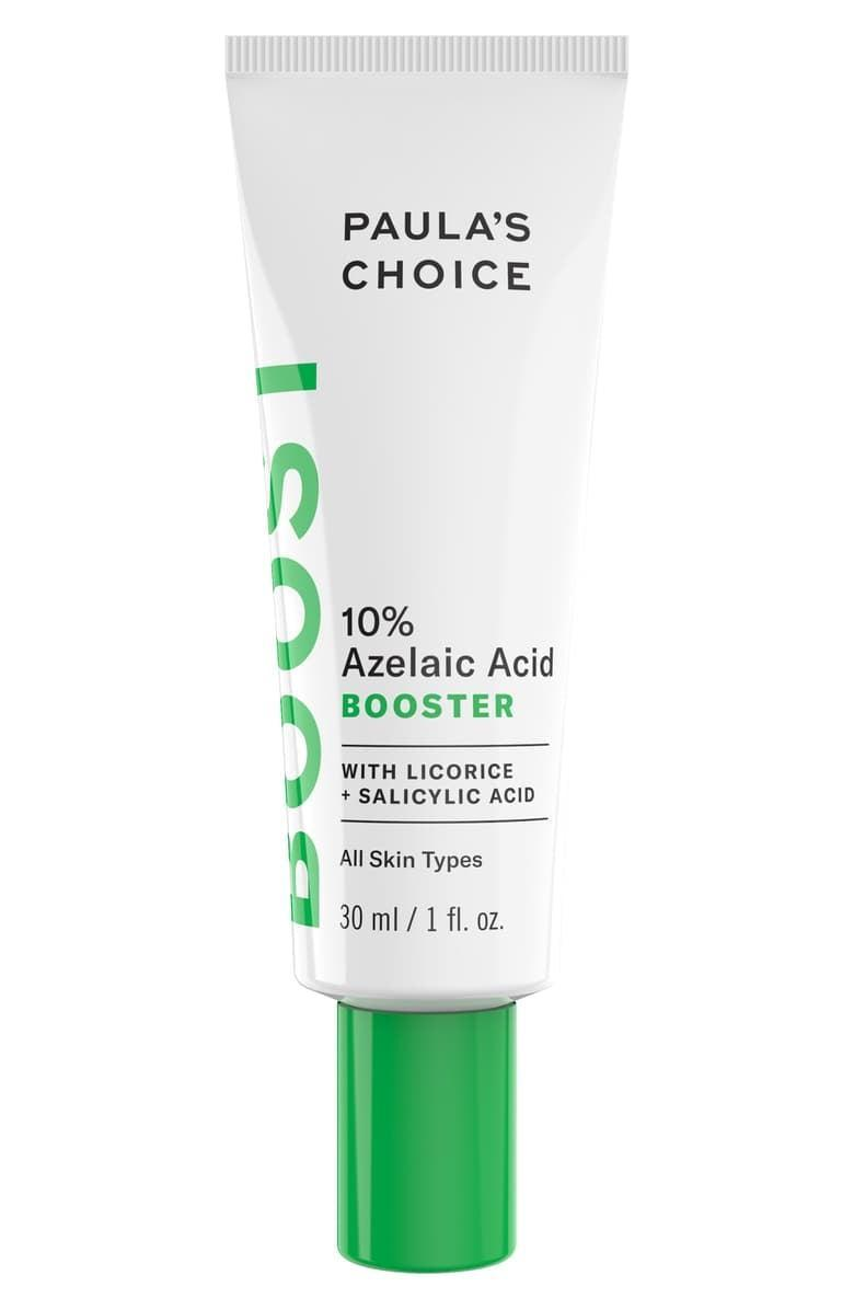 <p>Whether your dealing with acne, hyperpigmentation, irritation, or rosacea, the <span>Paula's Choice 10% Azelaic Acid Booster</span> ($36) has got your back.</p>