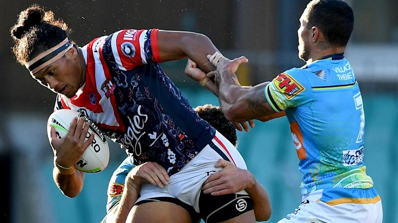 NRL ROOSTERS TITANS