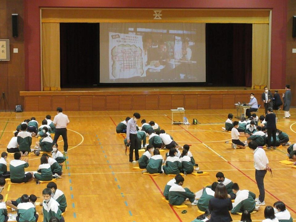 Some schools in Japan have decided to keep school trips closer to home in order to limit travel time.