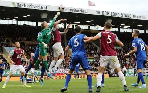 <span>Burnley took all three points at Turf Moor to continue their solid start to the season</span> <span>Credit: GETTY IMAGES </span>