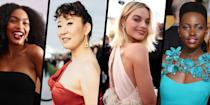 "<p>This year's Screen Actors Guild Awards is taking place this weekend, and much like other events, it will look a little different this year due to the ongoing Covid-19 pandemic. Although there won't be a <a href=""https://www.harpersbazaar.com/uk/celebrities/red-carpet/"" rel=""nofollow noopener"" target=""_blank"" data-ylk=""slk:red carpet"" class=""link rapid-noclick-resp"">red carpet</a> as we know it, we're crossing our fingers for some much-needed Hollywood glamour from the nominees and presenters on social media, as we've seen with other award events like the <a href=""https://www.harpersbazaar.com/uk/fashion/fashion-news/g35963201/naacp-image-awards-2021/"" rel=""nofollow noopener"" target=""_blank"" data-ylk=""slk:NAACP Image Awards"" class=""link rapid-noclick-resp"">NAACP Image Awards</a> and <a href=""https://www.harpersbazaar.com/uk/fashion/g35760163/critics-choice-awards-2021-red-carpet/"" rel=""nofollow noopener"" target=""_blank"" data-ylk=""slk:The Critics' Choice Awards"" class=""link rapid-noclick-resp"">The Critics' Choice Awards</a> - where we were treated to extravagant event-worthy looks from the stars' homes. </p><p>Here we chart some of our favourite SAG Award looks over the years, from a nineties Jennifer Aniston, and Natalie Portman in effortlessly elegant maternity wear, to memorable looks from Margot Robbie, Lupita Nyong'o, Emily Blunt, Sandra Oh and many more. </p>"