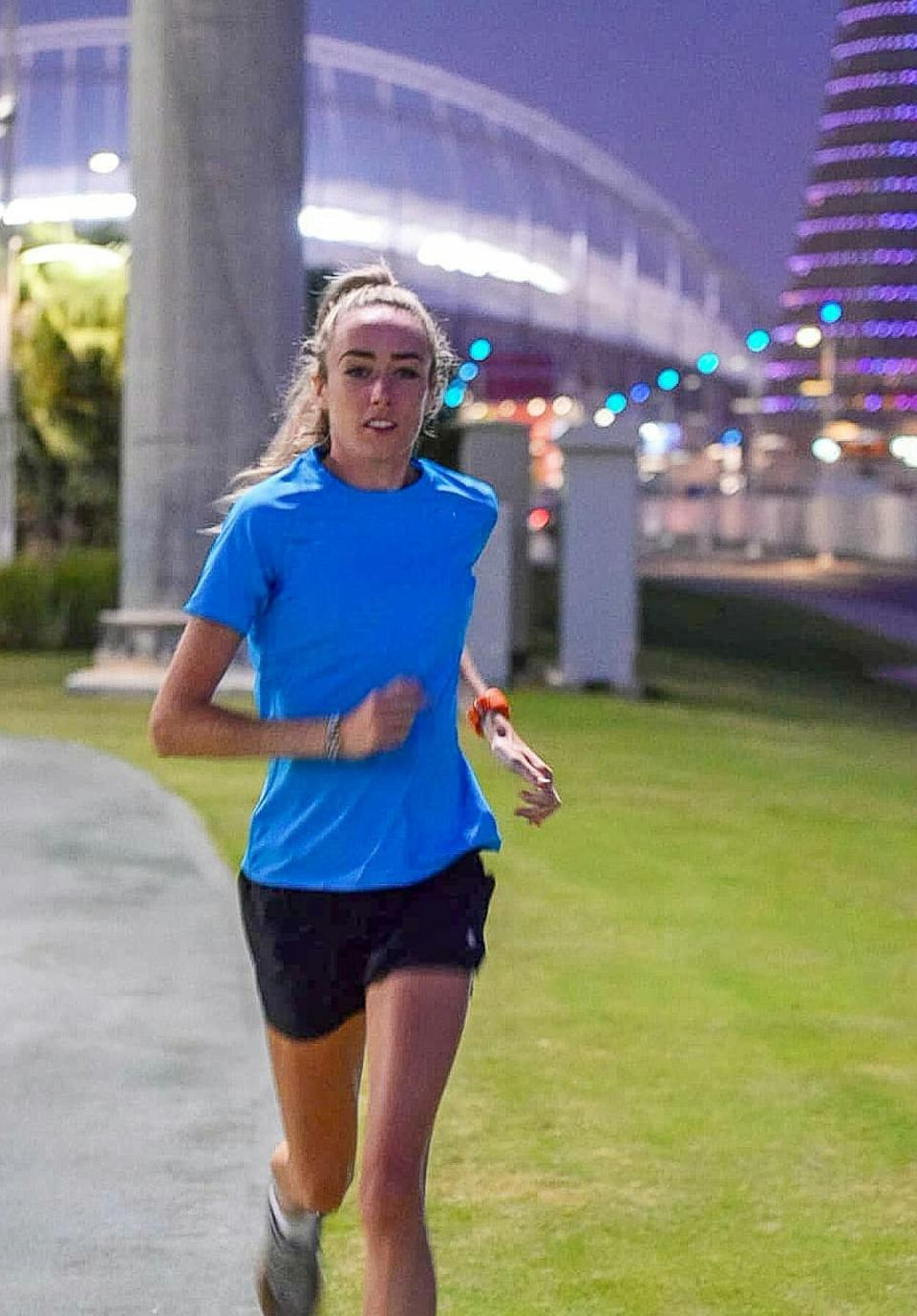 McColgan will be competing in the 5000 metres at the World Championships.