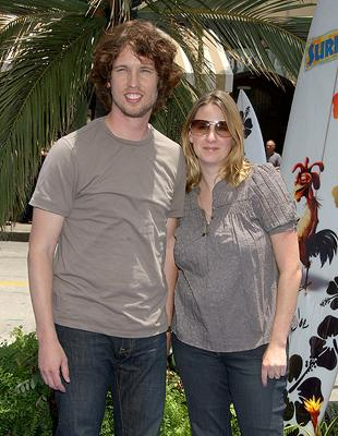 "Premiere: <a href=""/movie/contributor/1808539733"">Jon Heder</a> and wife at the premiere of Columbia Pictures' <a href=""/movie/1809418890/info"">Surf's Up</a> - 6/2/2007<br>Photo: <a href=""http://www.wireimage.com/"">Gregg DeGuire, WireImage.com</a>"