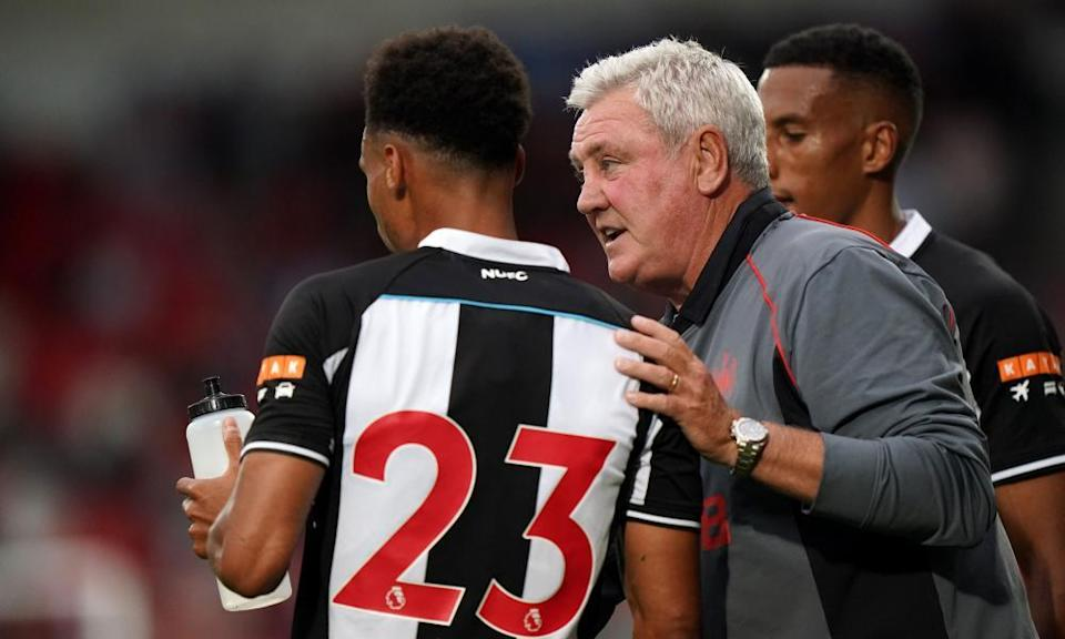 Steve Bruce: just show him a derby divide and he'll cross it.