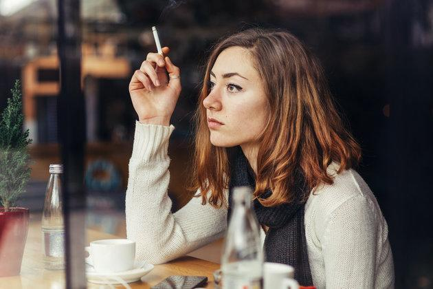 Smoking just one cigarette a day raises the risk of developing coronary heart disease and stroke far more than first thought, a new study suggests.