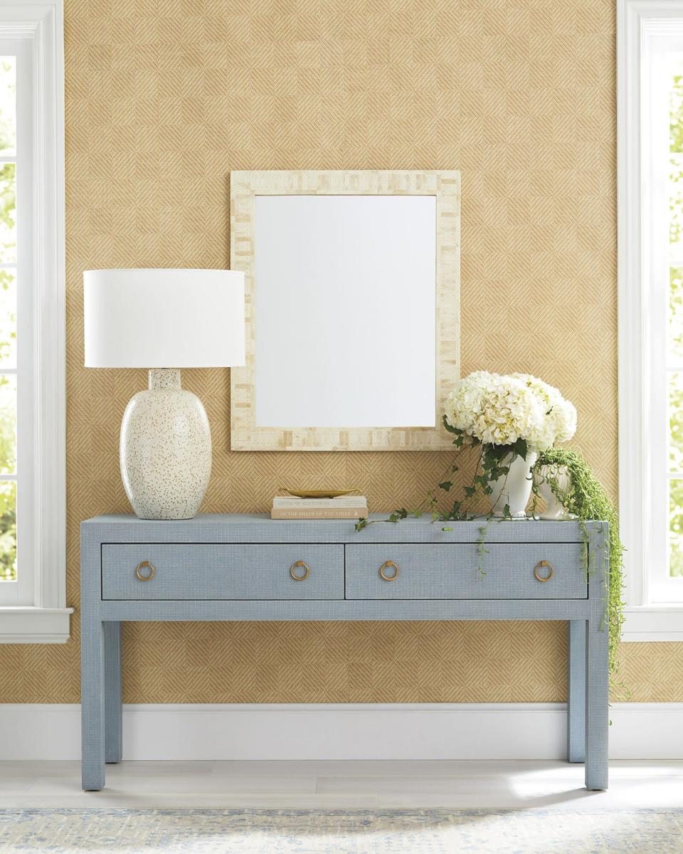 Serena and Lily Cardiff Paperweave Wallpaper in Natural