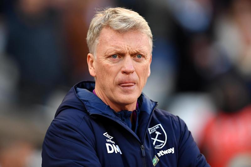 David Moyes will want to put some distance between West Ham and the relegation zone: Getty Images