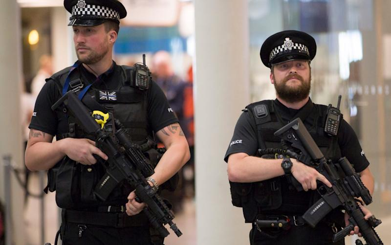The National Police Federation surveyed tens of thousands of officers about arming patrols - Nick Edwards
