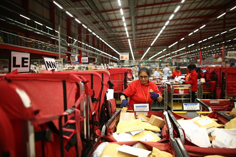 Nearly 1m Royal Mail workers have been told their pensions are unaffordable: Getty Images