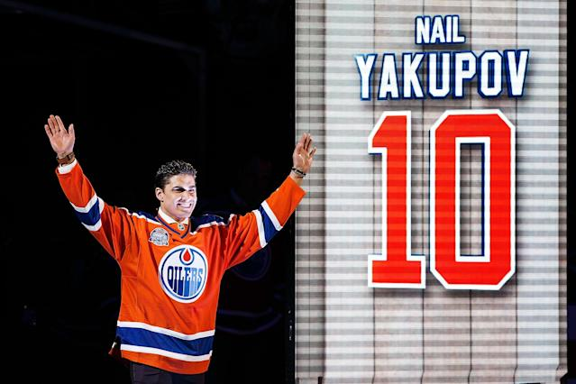 Nail Yakupov's trade value is at bargain basement levels