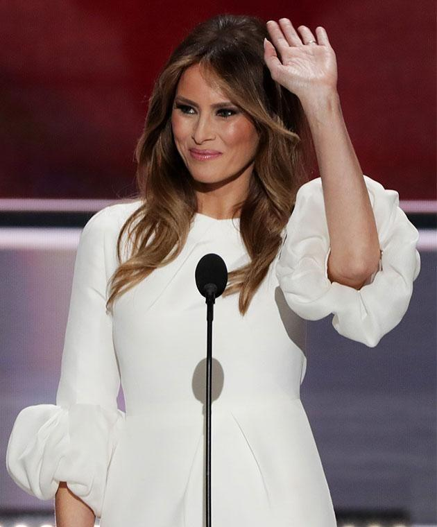 After eight months as first lady, Melania is taking her first foreign tour alone. Photo: Getty