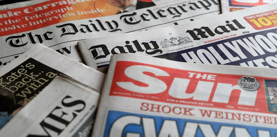 What the papers say – August 3 (PA) (PA Archive)