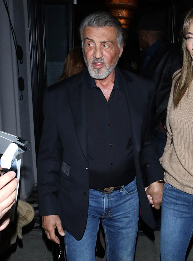 Sylvester Stallone is seen on 29 January 2020 in Los Angeles, California. [Photo: Getty]