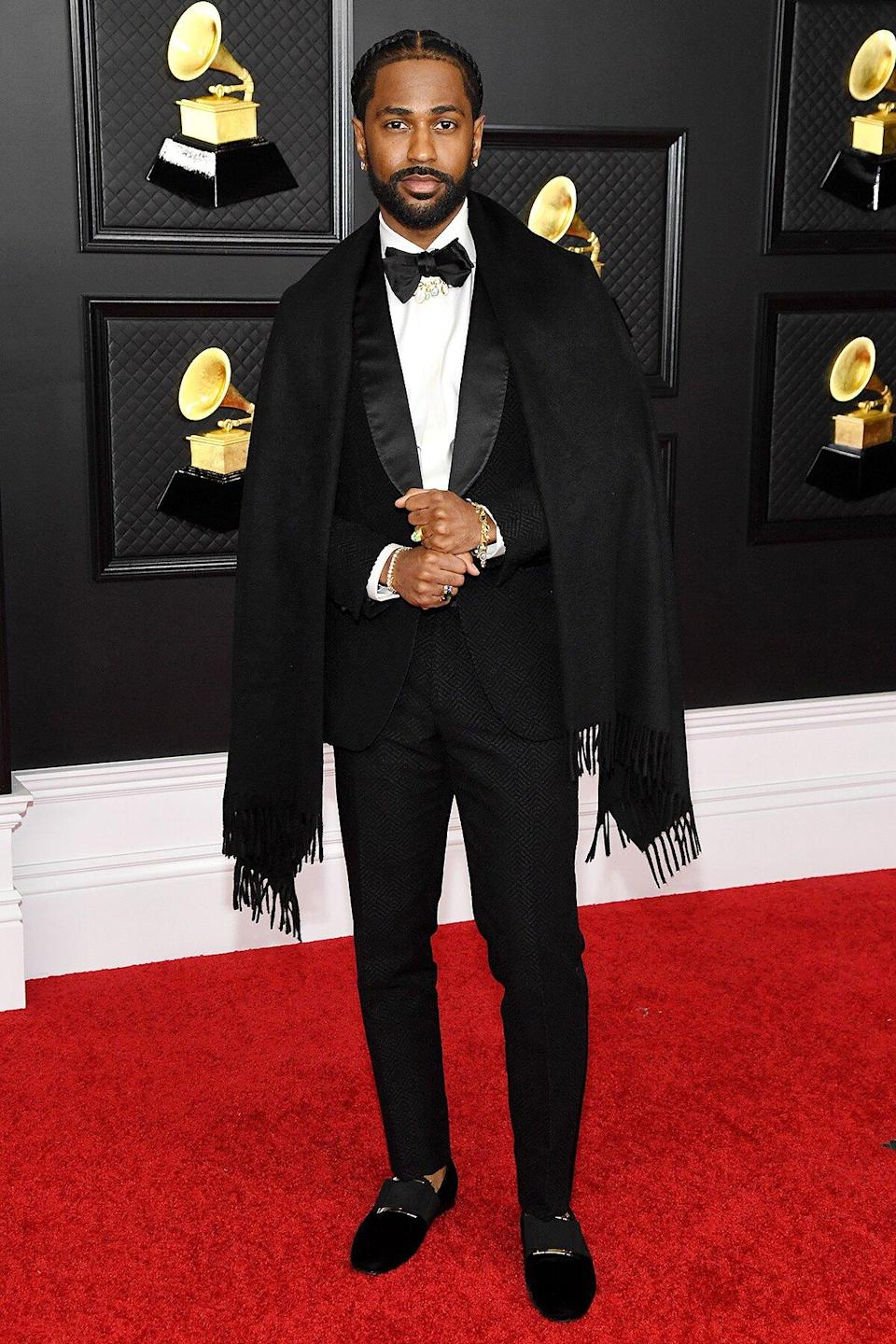 Big Sean attends the 63rd Annual GRAMMY Awards