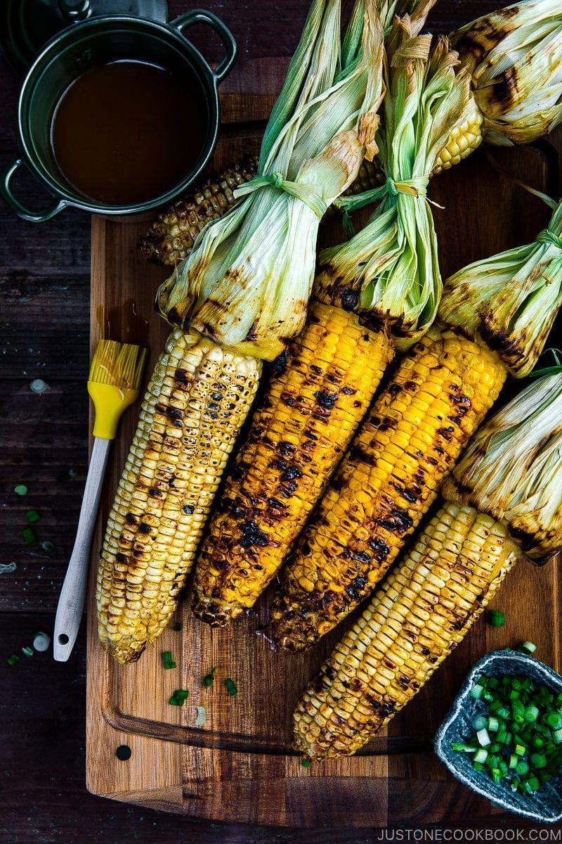 "<p>Create a savory sweet butter by combining miso and honey to brush on your corn. The flavors will be so rich when grilled!</p><p><strong>Get the recipe at <a href=""https://www.justonecookbook.com/grilled-corn-with-miso-butter/"" rel=""nofollow noopener"" target=""_blank"" data-ylk=""slk:Just One Cookbook"" class=""link rapid-noclick-resp"">Just One Cookbook</a>.</strong></p><p><strong><a class=""link rapid-noclick-resp"" href=""https://go.redirectingat.com?id=74968X1596630&url=https%3A%2F%2Fwww.walmart.com%2Fsearch%2F%3Fquery%3Dgrill%2Bbasting%2Bbrush&sref=https%3A%2F%2Fwww.thepioneerwoman.com%2Ffood-cooking%2Fmeals-menus%2Fg35993911%2Fbest-corn-recipes%2F"" rel=""nofollow noopener"" target=""_blank"" data-ylk=""slk:SHOP BASTING BRUSHES"">SHOP BASTING BRUSHES</a></strong></p>"