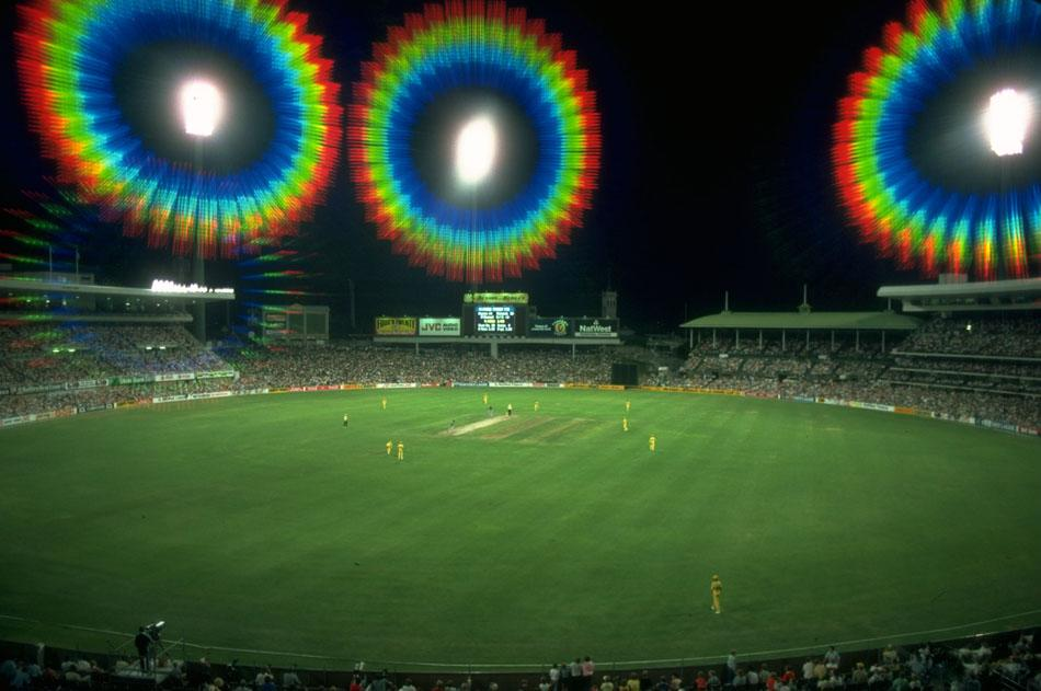 Feb 1985:  General view of a cricket match at the Sydney Cricket Ground in Australia. \ Mandatory Credit: Adrian  Murrell/Allsport