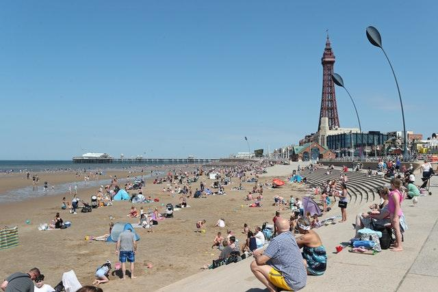 Blackpool may be spared some of the new measures (Peter Byrne/PA)