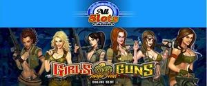 Girls With Guns Take All Slots Casino by Storm in a New Online Slot