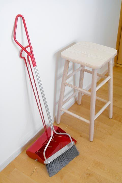 "<p>""I like an angled-bristle broom (one longer end makes it easier to clean in corners) and a <a href=""https://www.amazon.com/Carlisle-36141503-Duo-Pan-Dustpan-Overall/dp/B005TLD5RK/?tag=syn-yahoo-20&ascsubtag=%5Bartid%7C10063.g.35213045%5Bsrc%7Cyahoo-us"" rel=""nofollow noopener"" target=""_blank"" data-ylk=""slk:dustpan that clips to the broom"" class=""link rapid-noclick-resp"">dustpan that clips to the broom</a>, so they're always together when you need them,"" says Donna Smallin, author of <em><a href=""https://www.amazon.com/Cleaning-Plain-Simple-reference-challenges/dp/1580176070/?tag=syn-yahoo-20&ascsubtag=%5Bartid%7C10063.g.35213045%5Bsrc%7Cyahoo-us"" rel=""nofollow noopener"" target=""_blank"" data-ylk=""slk:Cleaning Plain and Simple"" class=""link rapid-noclick-resp"">Cleaning Plain and Simple</a></em> and <em><a href=""https://www.amazon.com/One-Minute-Cleaner-Plain-Simple-Cleaning/dp/1580176593/?tag=syn-yahoo-20&ascsubtag=%5Bartid%7C10063.g.35213045%5Bsrc%7Cyahoo-us"" rel=""nofollow noopener"" target=""_blank"" data-ylk=""slk:The One-Minute Cleaner"" class=""link rapid-noclick-resp"">The One-Minute Cleaner</a></em>.</p>"