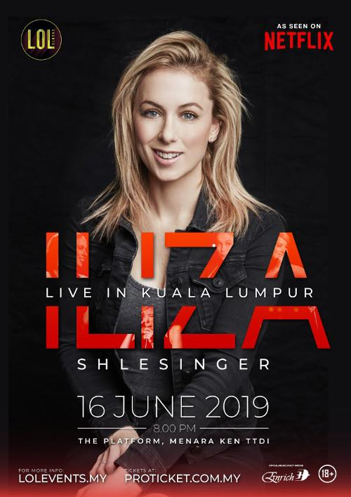 Will you be wearing your own Iliza-inspired swag to her show?