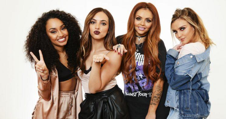 The Ultimate Girl Squad: Leigh-Anne Pinnock, Jade Thirlwall, Jesy Nelson and Perrie Edwards (Copyright: Justin Lloyd/Newspix/REX/Shutterstock)