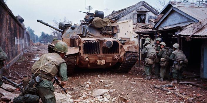 Marine Corps Marines Hue South Vietnam