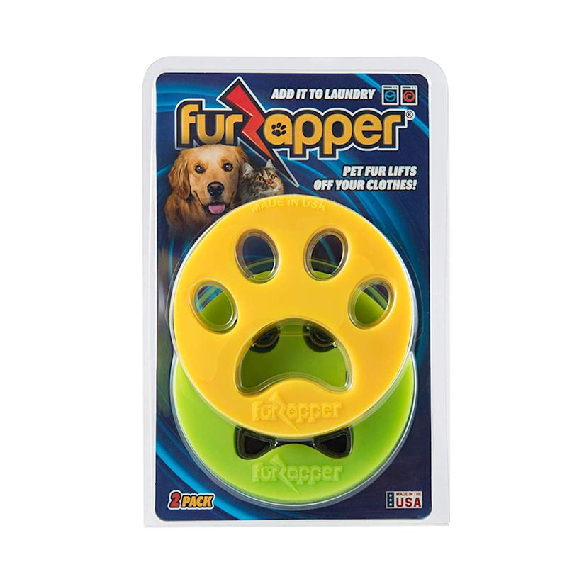 It's simple: Put the FurZappers in the wash and let them do their job! (Photo: Amazon)