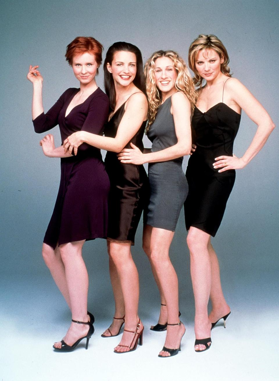 The cast of Sex And The City pictured in 1999 (Photo: Getty)