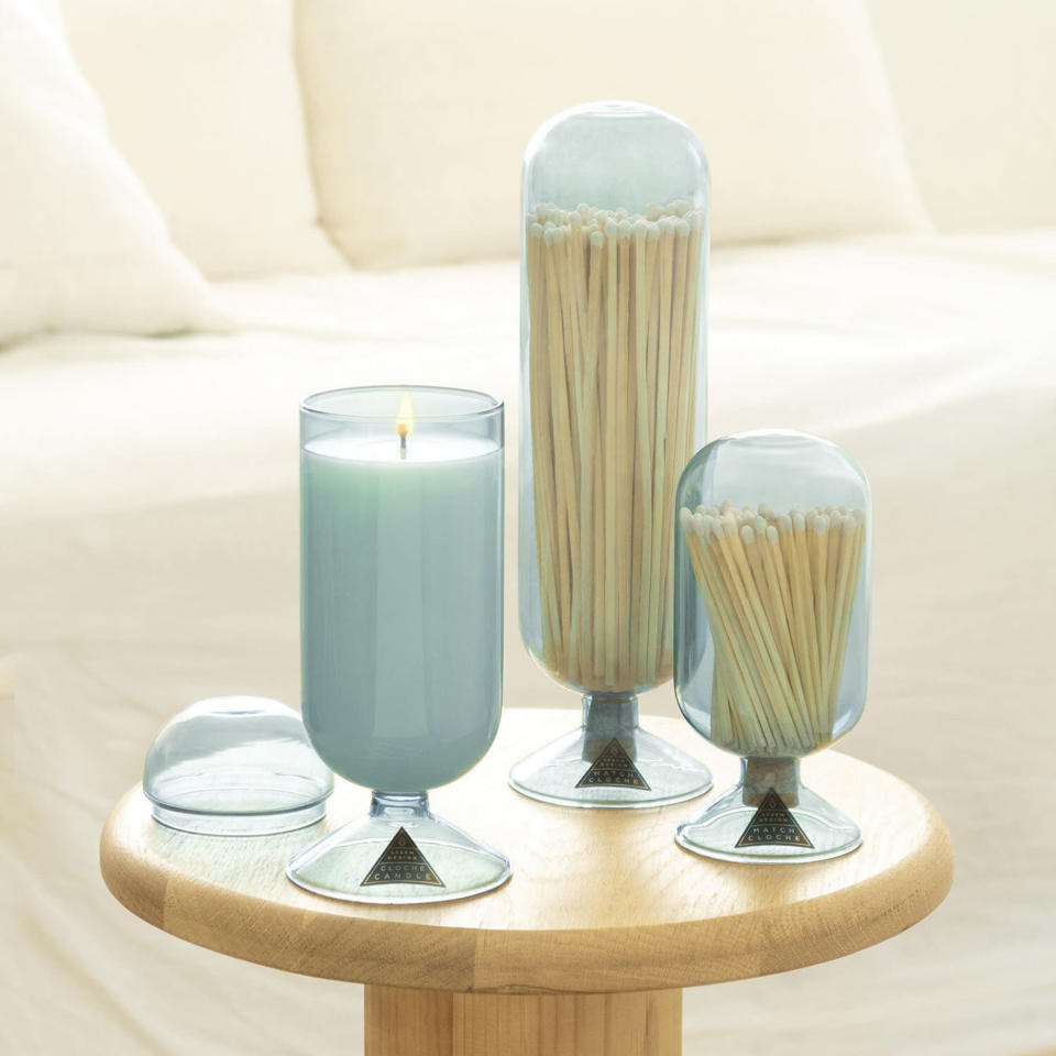 """<p>Give mom some serenity with this <a href=""""https://www.skeemshop.com/"""" rel=""""nofollow noopener"""" target=""""_blank"""" data-ylk=""""slk:classy candle"""" class=""""link rapid-noclick-resp"""">classy candle</a> that not only looks good but smells great too.</p> <p><strong>$64, <a href=""""https://www.skeemshop.com/"""" rel=""""nofollow noopener"""" target=""""_blank"""" data-ylk=""""slk:skeemshop.com"""" class=""""link rapid-noclick-resp"""">skeemshop.com</a></strong></p>"""
