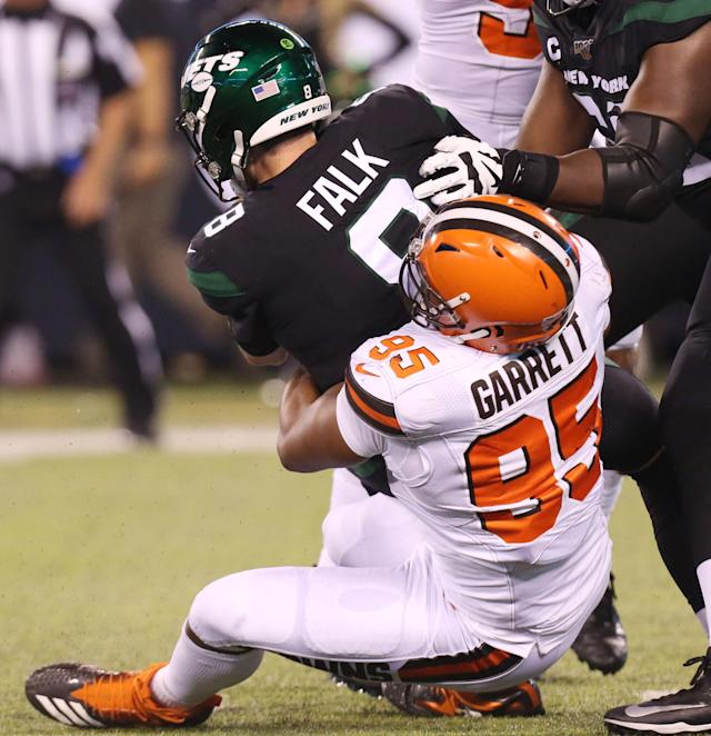 Myles Garrett says he's not a dirty player: 'That's not me'