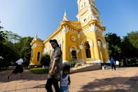 A Catholic holdout in a sea of Buddhist temples, the mission survived hardship, occasional hostility and war