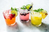 """<p>With these easy, inexpensive recipes, you can be mix impressive drinks for your friends without breaking the budget. They'll be calling you bartender in no time. Still thirsty? We have plenty more <a href=""""https://www.delish.com/entertaining/g2163/summer-cocktails/"""" rel=""""nofollow noopener"""" target=""""_blank"""" data-ylk=""""slk:cocktails"""" class=""""link rapid-noclick-resp"""">cocktails</a>, <a href=""""https://www.delish.com/cooking/recipe-ideas/g3545/shots/"""" rel=""""nofollow noopener"""" target=""""_blank"""" data-ylk=""""slk:easy shots"""" class=""""link rapid-noclick-resp"""">easy shots</a>, and <a href=""""https://www.delish.com/cooking/g3405/boozy-popsicle-recipes/"""" rel=""""nofollow noopener"""" target=""""_blank"""" data-ylk=""""slk:boozy popsicles"""" class=""""link rapid-noclick-resp"""">boozy popsicles</a>.</p>"""