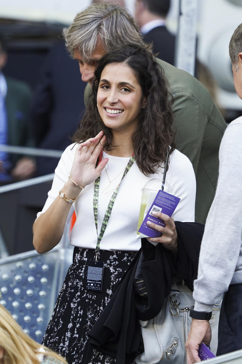 Xisca Perelló during day six of the Mutua Madrid Open at La Caja Magica on May 09, 2019 in Madrid, Spain. (Photo by Oscar Gonzalez/NurPhoto via Getty Images)