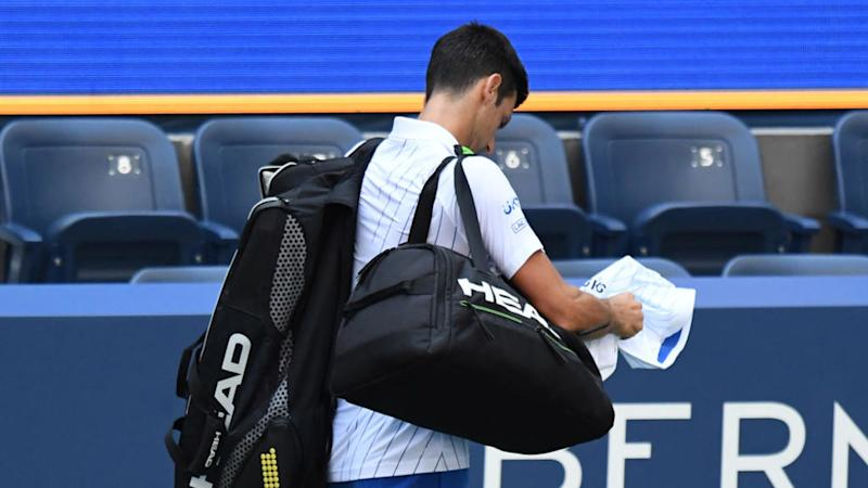 Djokoglitch: Serb's meltdown at US Open paves way for a new name on a Grand Slam trophy