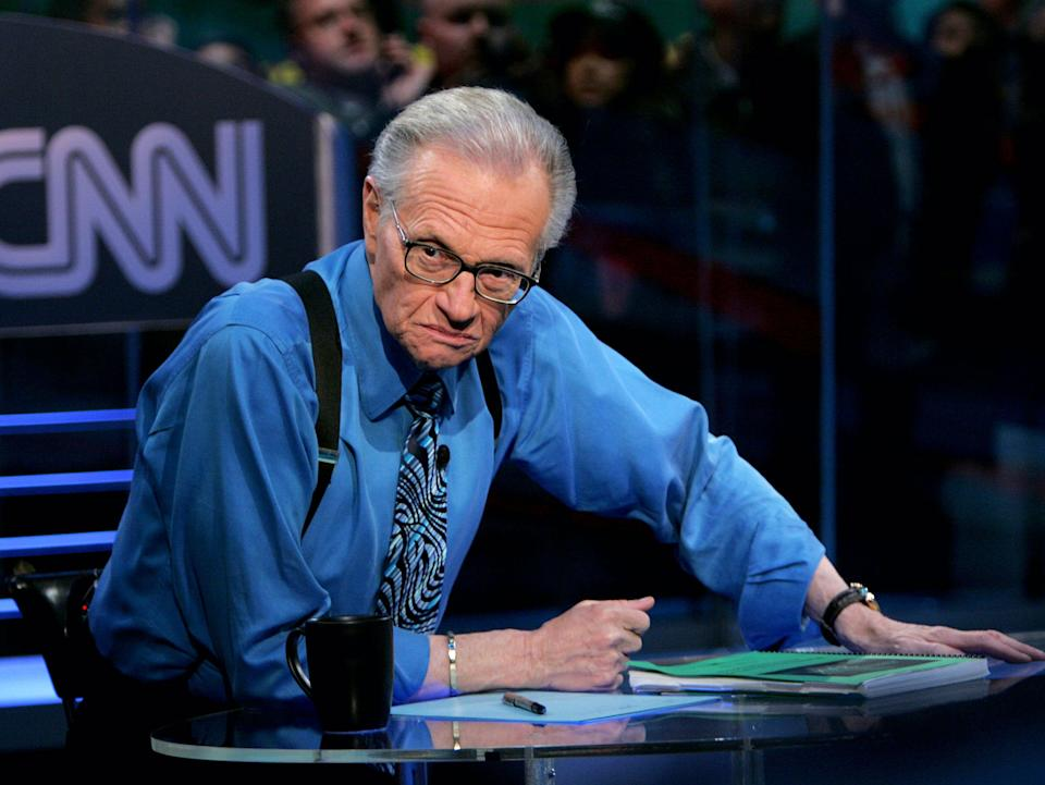 <p>King spent decades at CNN</p> (Getty Images)
