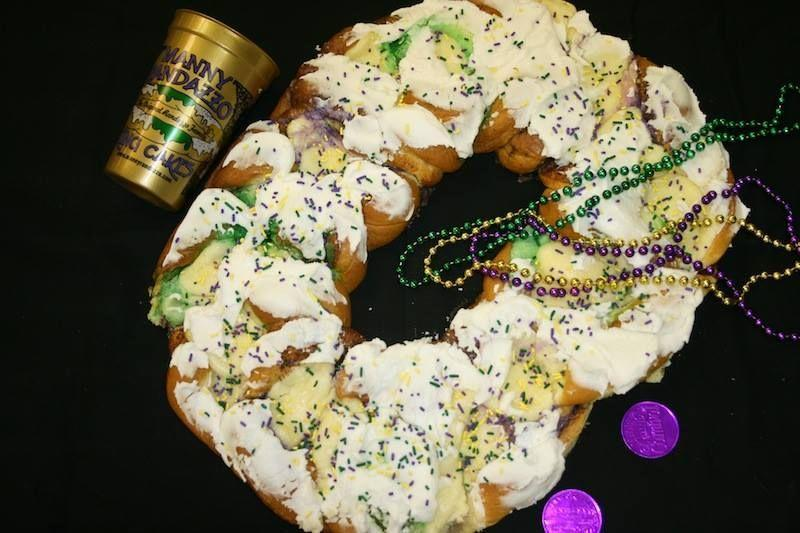 """<p>In 1995, Manny Randazzo decided to break off from his family's business and open a bakery dedicated solely to king cakes. The cakes that ship nationwide weigh in at two pounds, and they're infused with cinnamon then topped with cream cheese frosting. Every order also comes with a souvenir cup, beads, doubloons, and a note on the history of Mardi Gras.</p><p><a class=""""link rapid-noclick-resp"""" href=""""https://randazzokingcake.com/cakes"""" rel=""""nofollow noopener"""" target=""""_blank"""" data-ylk=""""slk:ORDER TODAY"""">ORDER TODAY</a></p>"""