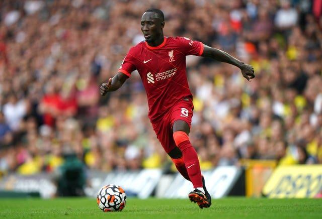 Naby Keita has been restricted to two Premier League starts this season