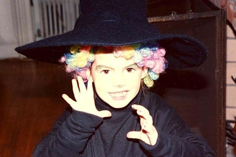 Anne Hathaway shares childhood picture of her in costume ahead of The Witches release