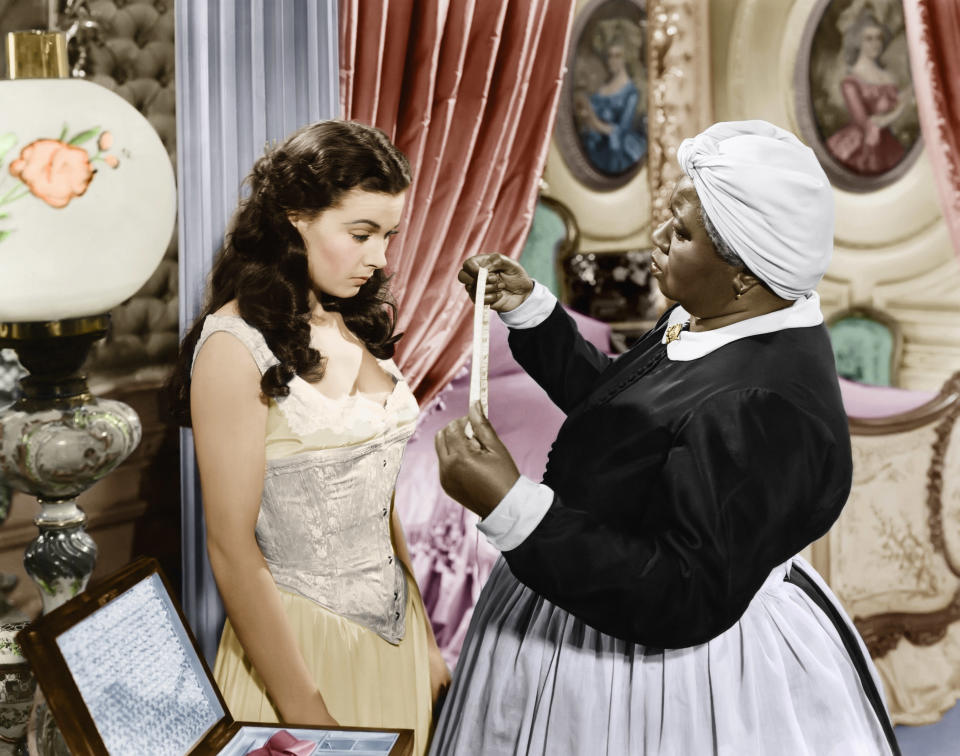Vivien Leigh and Hattie McDaniel in 1939's Gone with the Wind, one of my Hollywood classics that will be revisited in a new TCM series.  (Photo: Everett Collection)