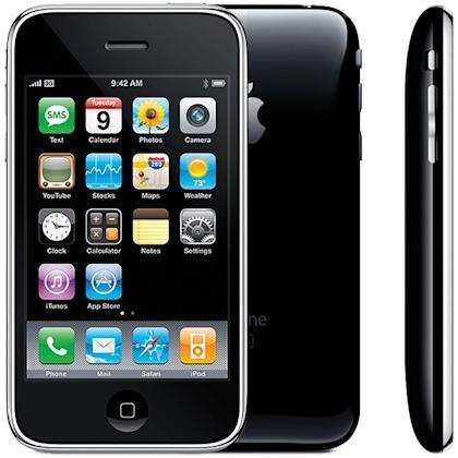 This iPhone was called 3G because it could get onto the 3G cellular networks (and NOT because it was the third-generation iPhone; it wasn't).