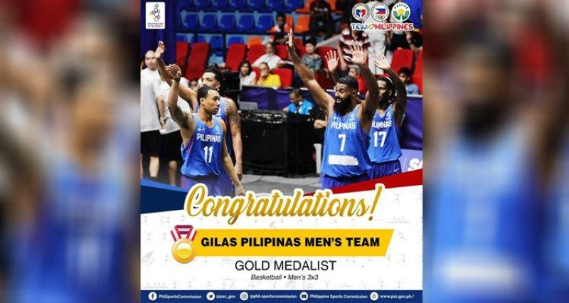 PHL sweeps 3x3 basketball in SEA Games