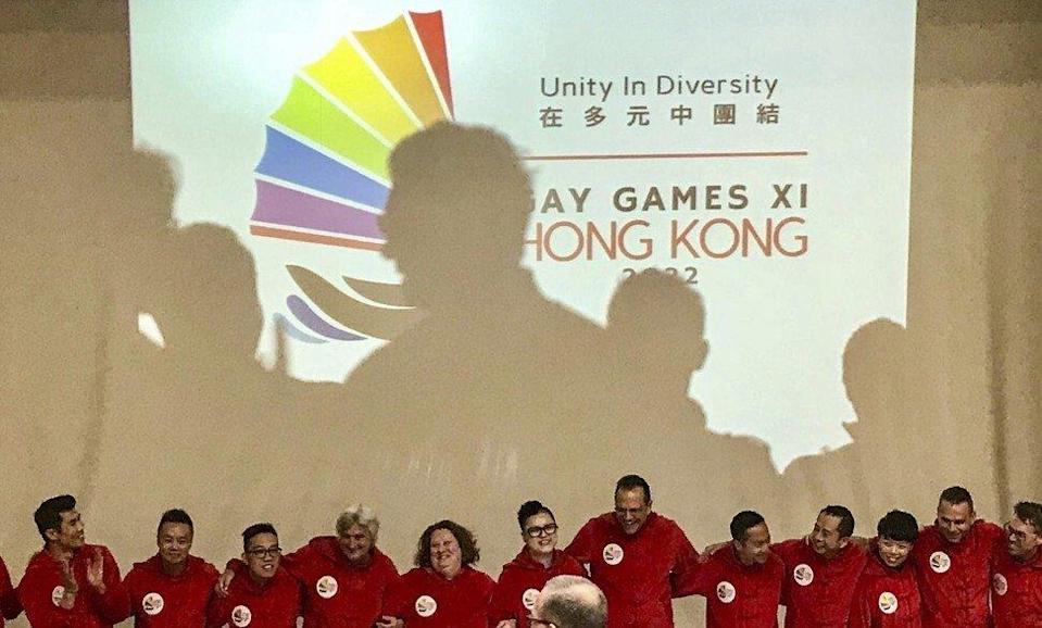 Hong Kong was announced as the next host of the Gay Games in Paris, on October 30, 2017. Photo: Facebook