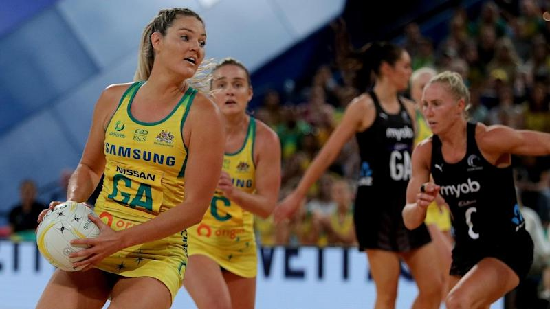 NETBALL CONSTELLATION CUP GAME FOUR