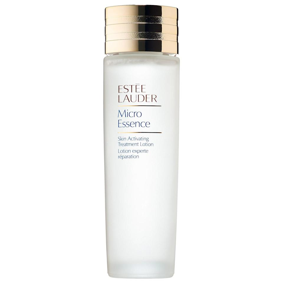 <p>There's a reason so many editors swear by the <span>Estée Lauder Micro Essence Skin Activating Treatment Lotion</span> ($65): it's loaded with hydrating ingredients that keep your skin looking plump and moisturized. Plus, if you're sensitive to scent, this one is odor-free. </p>