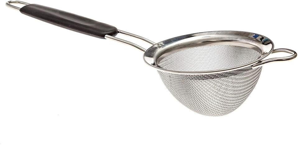 <p><span>Fine Mesh Stainless Steel Mini Tea Strainer</span> ($6, originally $7)</p>