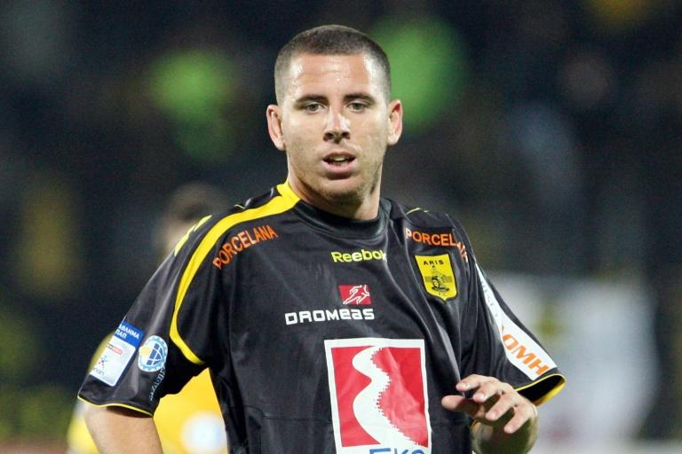 Former Spanish forward Sergio Contreras Pardo, seen here while playing for Aris Thessaloniki in 2009, is suspected of heading a drugs ring