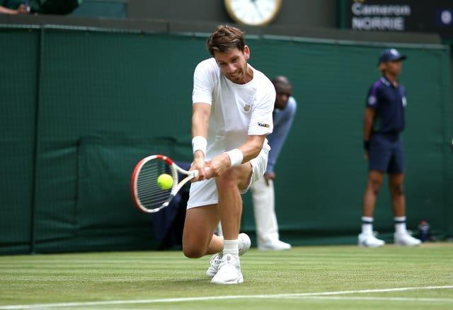Cameron Norrie's flat backhand makes life difficult for opponents